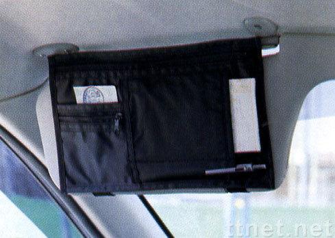 遮陽板置物袋